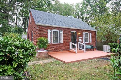 Kensington Single Family Home For Sale: 3107 Plyers Mill Road