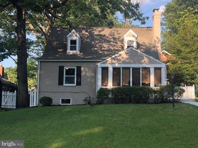 Washington Single Family Home For Sale: 1806 Branch Avenue SE