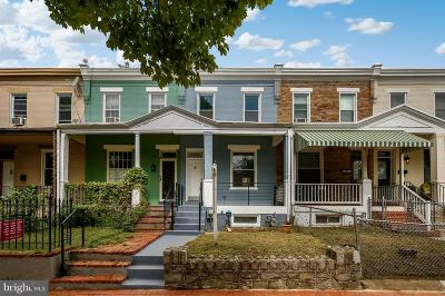 Washington DC Townhouse For Sale: $689,000