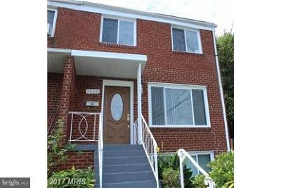Temple Hills MD Townhouse For Sale: $249,990
