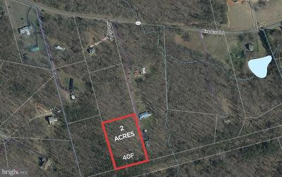 Orange County Residential Lots & Land For Sale: Mine Run Road