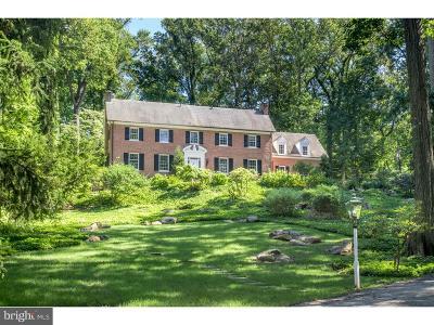 Villanova Single Family Home For Sale: 1638 Mount Pleasant Road