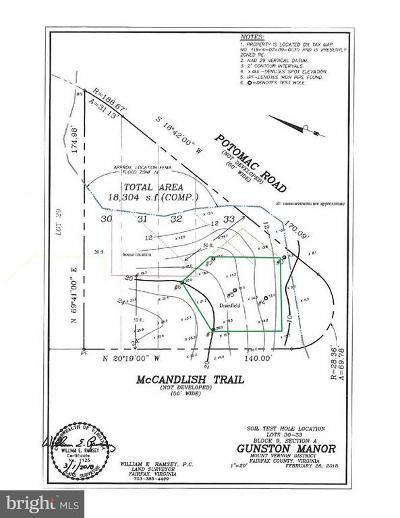 Lorton Residential Lots & Land For Sale: McCandlish Trail