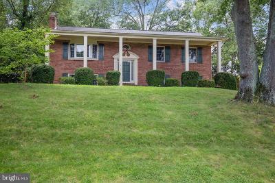 Alexandria Single Family Home For Sale: 8900 Camden Street