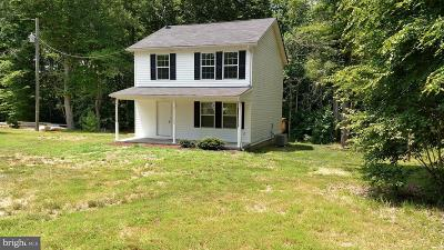 Colonial Beach Single Family Home For Sale: 458 Parrish Lane