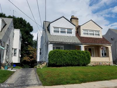 Upper Darby Single Family Home For Sale: 216 Parker Avenue