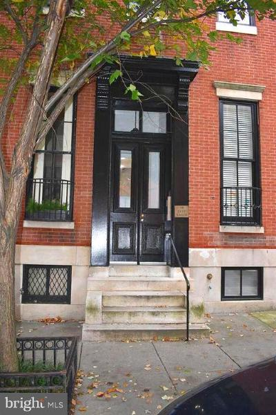 Baltimore City Rental For Rent: 15 Eager Street #BR