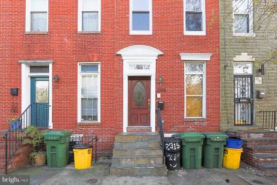 Baltimore City Rental For Rent: 2315 Eastern Avenue