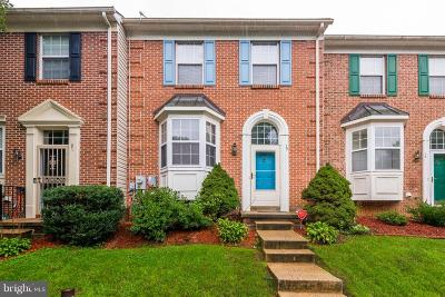 Baltimore County Townhouse Under Contract: 19 Red Jonathan Court