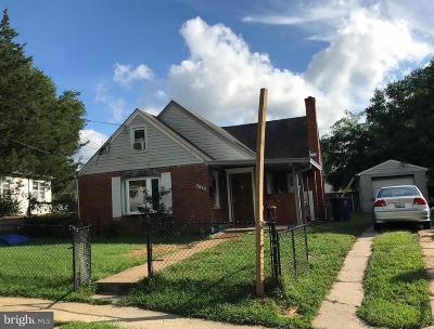 Hyattsville Single Family Home For Sale: 6715 Dorman Street