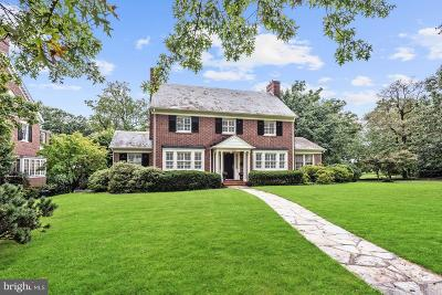Baltimore Single Family Home For Sale: 4216 Greenway