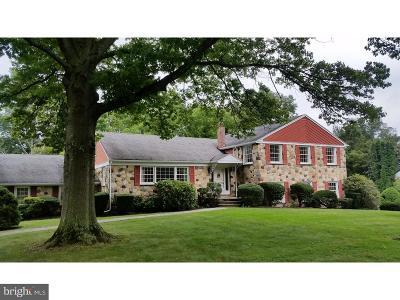 Villanova Single Family Home For Sale: 1721 Sherwood Circle