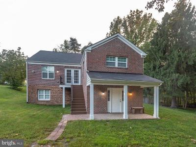 Temple Hills Single Family Home For Sale: 8511 Temple Hill Road