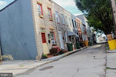 Baltimore City Rental For Rent: 519 Port Street