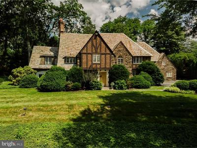 Bryn Mawr Single Family Home For Sale: 1120 Ashbridge Road