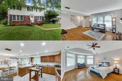 Vienna Single Family Home For Sale: 8606 Cottage Street