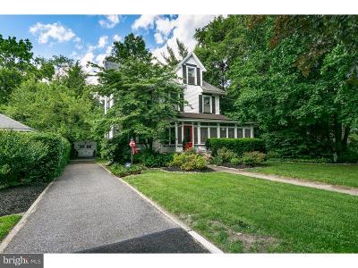 Merchantville Single Family Home For Sale: 15 E Cedar Avenue