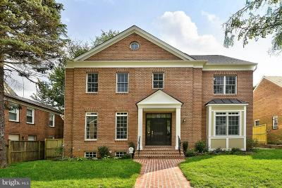 Washington DC Single Family Home For Sale: $2,450,000