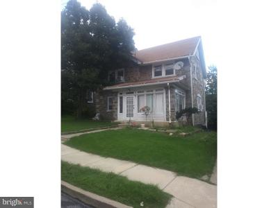 Upper Darby Single Family Home For Sale: 7117 Hazel Avenue