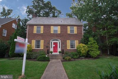 Washington Single Family Home For Sale: 4919 16th Street NW