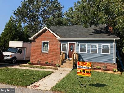 Baltimore Single Family Home For Sale: 2634 Edgemere Avenue