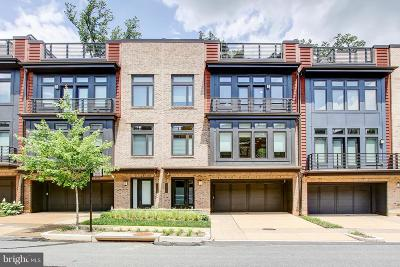 Bethesda Townhouse For Sale: 5328 Merriam Street