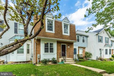 Laurel Townhouse For Sale: 9607 Donnan Castle Court