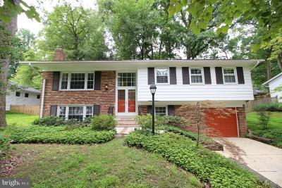 Vienna Single Family Home For Sale: 8707 Higdon Drive
