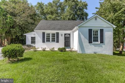Single Family Home For Sale: 12210 Dover Road