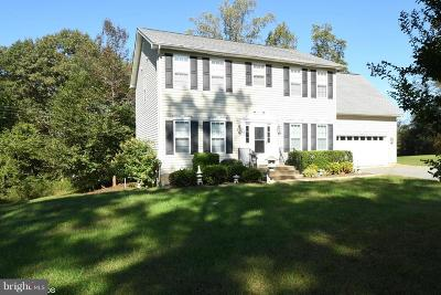 Culpeper Single Family Home For Sale: 14508 Hazel River Church