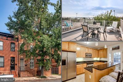 Canton, Canton Company, Canton Cove, Canton East, Canton, Patterson Park, Canton/Brewers Hill, Canton/Lighthouse Landing Townhouse For Sale: 1311 Clinton Street S