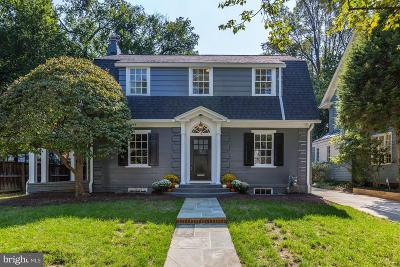 Chevy Chase Single Family Home For Sale: 12 Hesketh Street