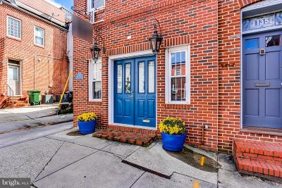 Baltimore Townhouse For Sale: 137 Fort Avenue E