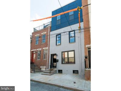 Graduate Hospital Townhouse For Sale: 2610 Catharine Street