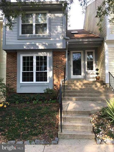 Silver Spring Townhouse For Sale: 1406 Casino Circle