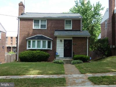 Brightwood Single Family Home Active Under Contract: 1309 Whittier Place NW
