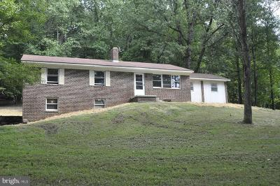 Frederick County Single Family Home For Sale: 1209 Della Road