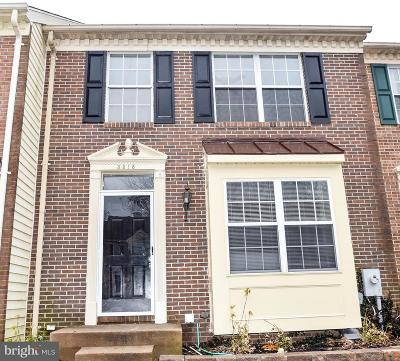Abingdon Townhouse For Sale: 3318 Betterton Circle