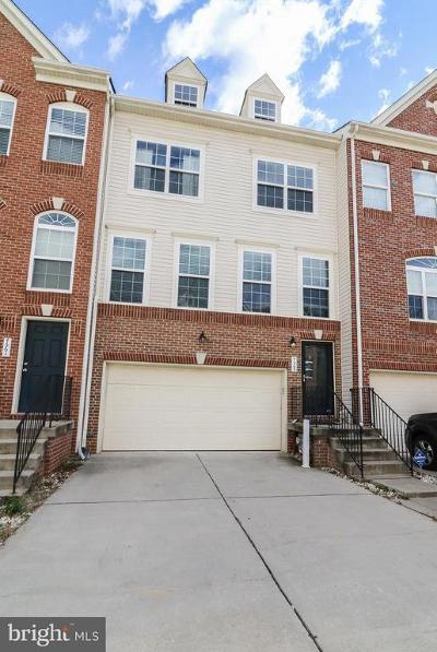 Glen Burnie Townhouse For Sale: 7063 Ingrahm Drive