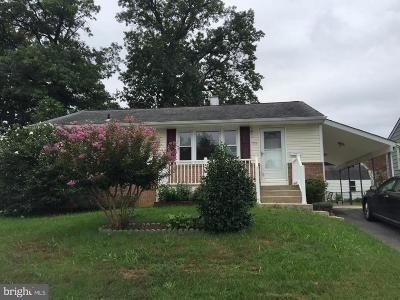 Lanham Single Family Home For Sale: 7315 Powhatan Street