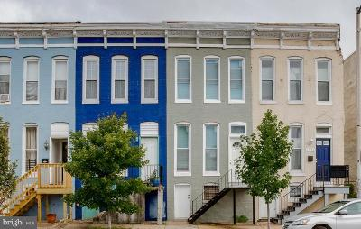 Baltimore Townhouse For Sale: 2537 N. Howard Street