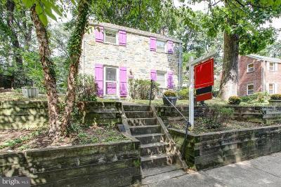 Takoma Park MD Single Family Home For Sale: $450,000
