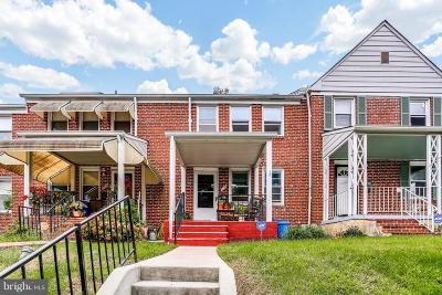 Baltimore Townhouse For Sale: 608 Braeside Road