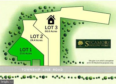 Bucks County Residential Lots & Land For Sale: 4320 Township Line Road