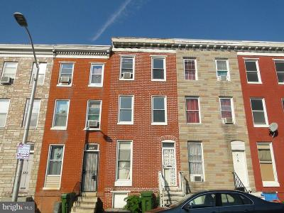 Baltimore Townhouse For Sale: 318 Mount Street