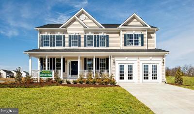 Fredericksburg VA Single Family Home For Sale: $481,990