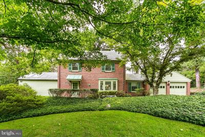 Baltimore Single Family Home For Sale: 7817 Overbrook Road