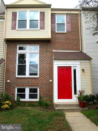Rockville Townhouse For Sale: 14910 Bradwill Court