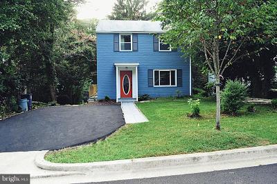 Takoma Park MD Single Family Home For Sale: $382,999