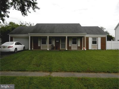 Willingboro NJ Single Family Home For Sale: $130,000
